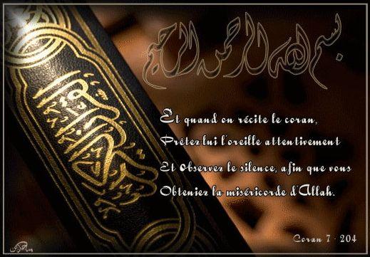 Cliquez ici et laissez vous emporter par la lecture du Saint Coran ...